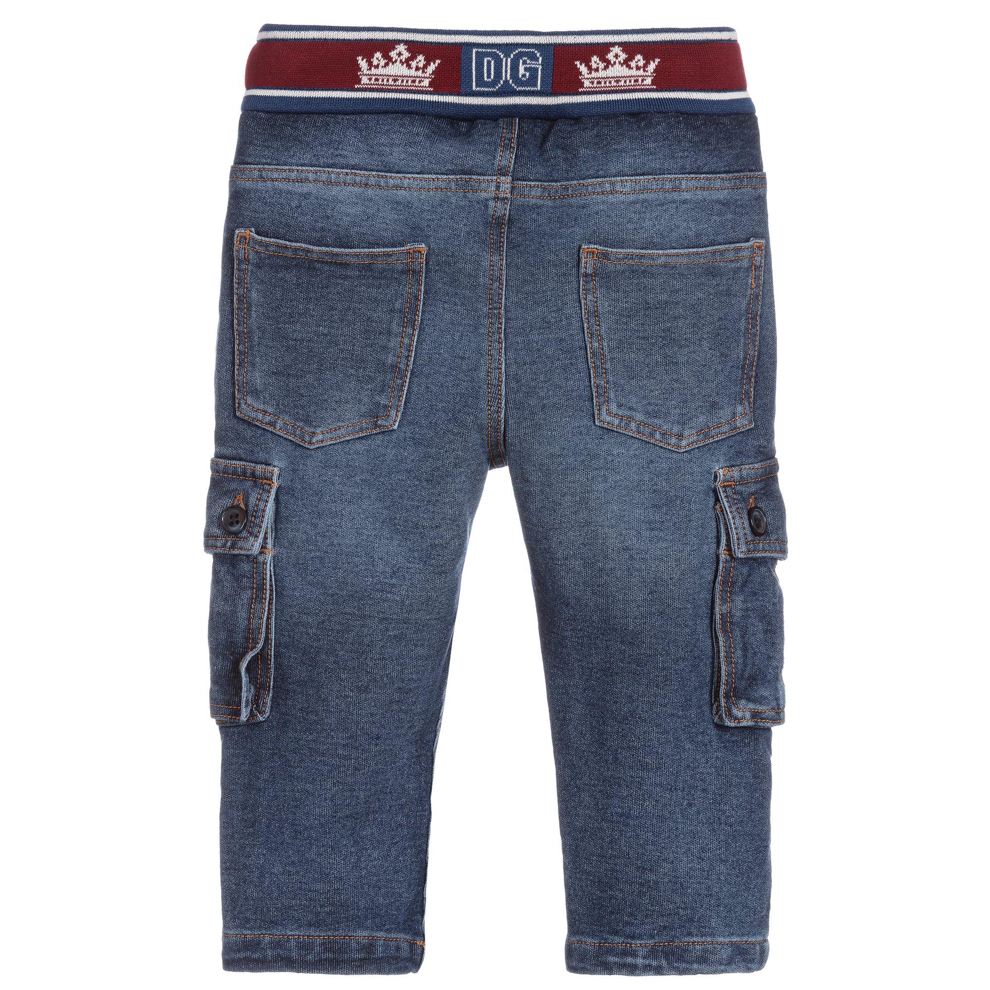 D&G broek jeans zijzakken