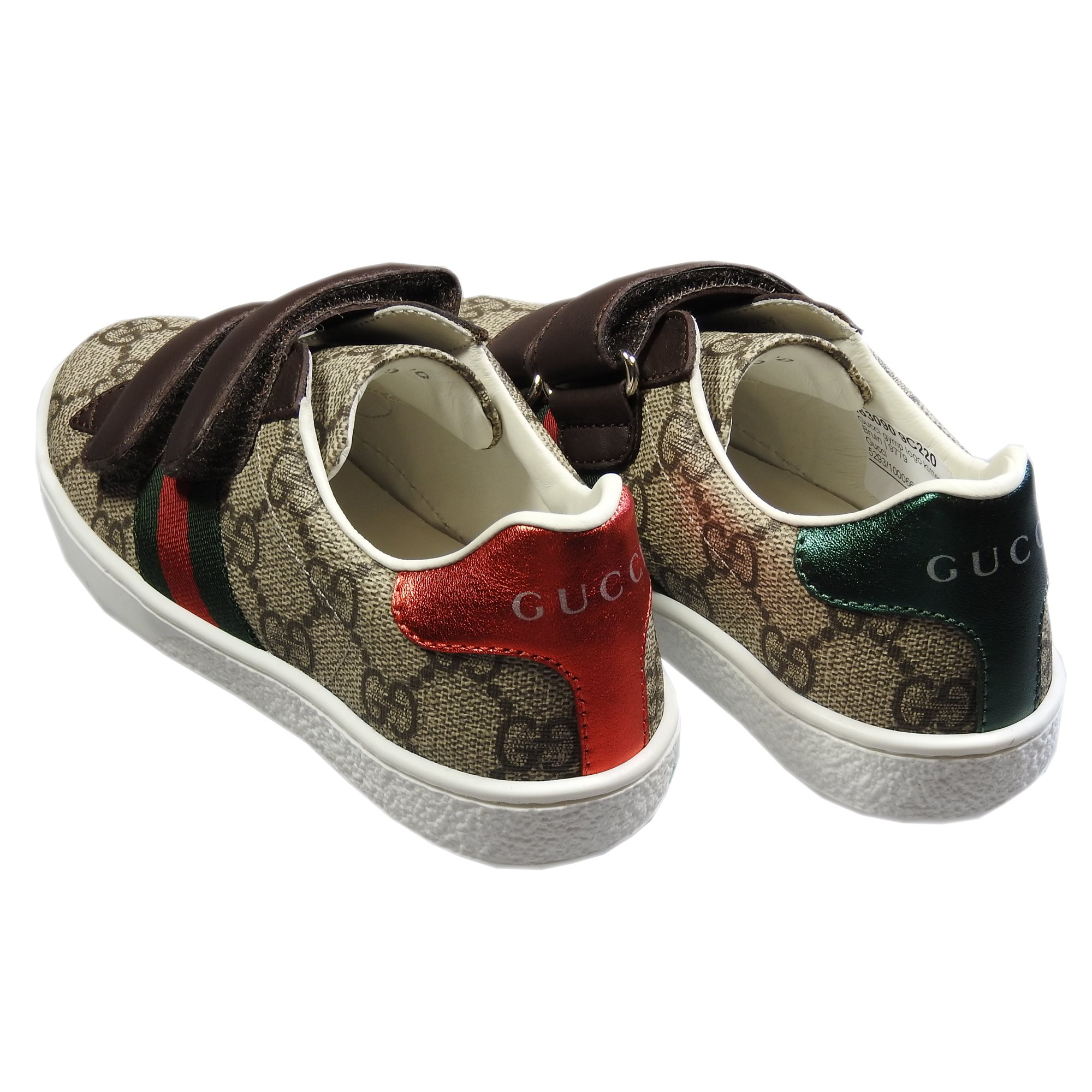 509472ad7f9 Producten - Gucci gymp logo klittenband - La Boite - Kids fashion ...
