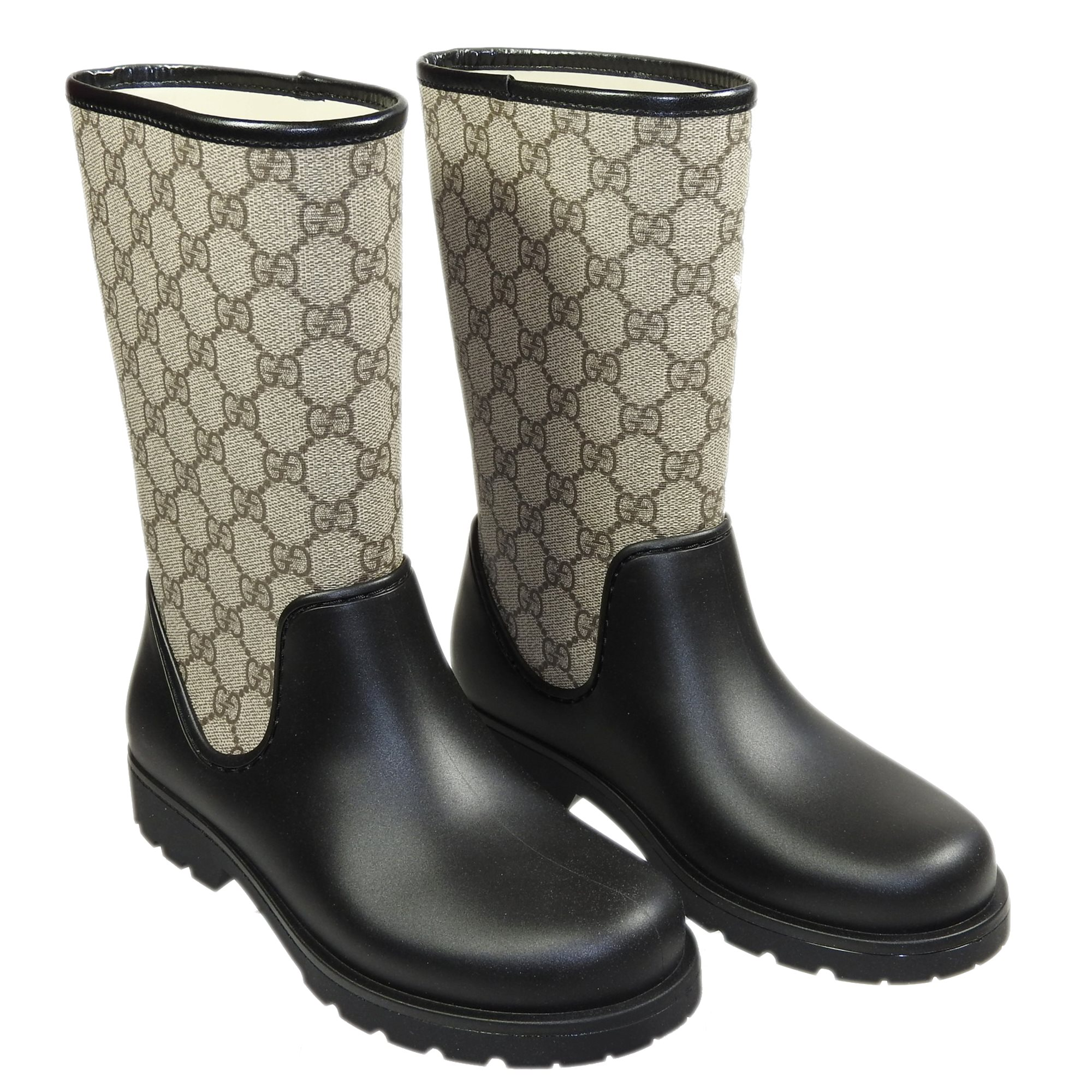 ed30ff2ba36 Producten - Gucci rubberlaars logo /zwart - La Boite - Kids fashion & shoes