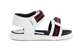 f9febf9b3eb Producten - Gucci sandaal web 2 klit wit - La Boite - Kids fashion ...