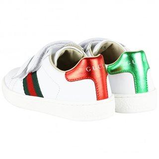 067cd7e44f5 Gucci sneaker web klit wit €210,00 Bestellen