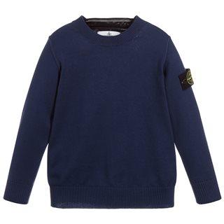 Producten Stone sweater patch legergroen La Boite Kids